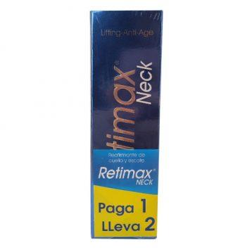Promoción Retimax Neck Antiedad